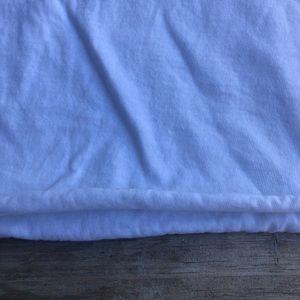 Emma & Sam Tops - Emma & Sam White Cropped Tshirt